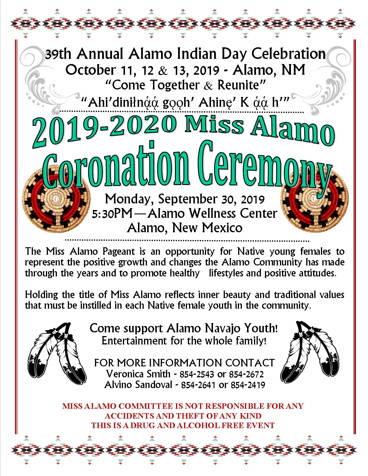 2019-2020 Miss Alamo Coronation Ceremony